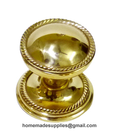 Brass Door Knob Georgian