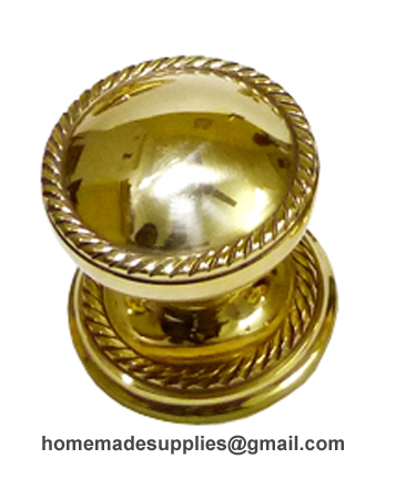 Brass Door Knob
