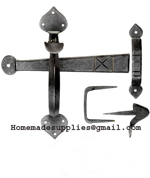 Iron Door Latch-Spear