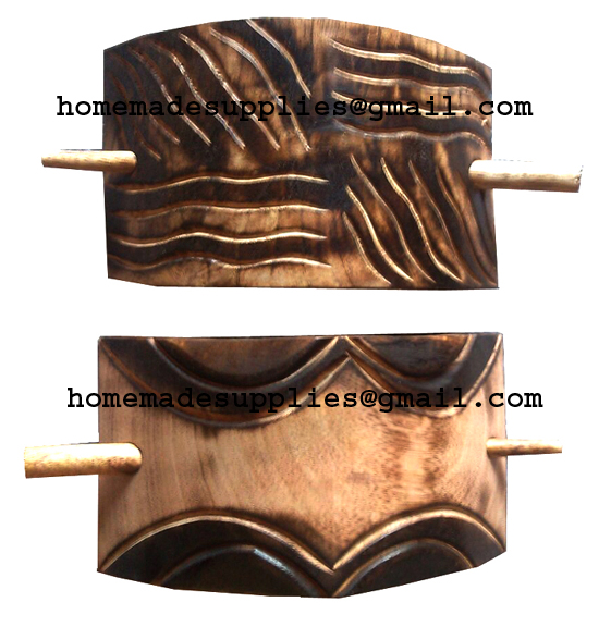 Wooden Curtain Hold Back & Tie Back