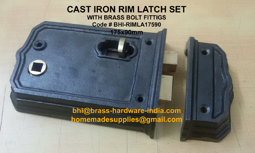 Rim lock- LATCH